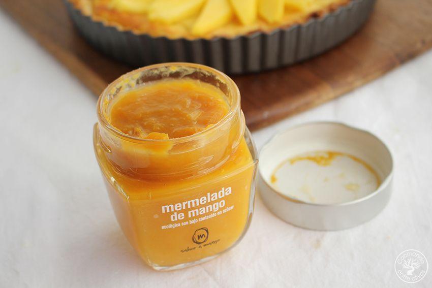 Tarta de mango y reques n con hojaldre cocinando entre for Cocinar con mango