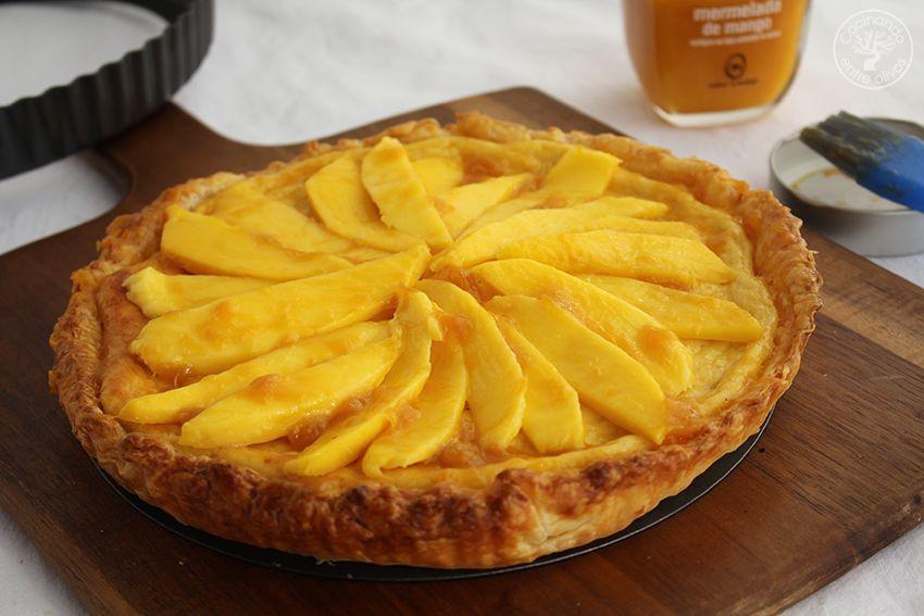 Tarta de mango y requesón con hojaldre (21)