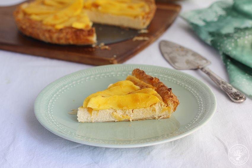 Tarta de mango y requesón con hojaldre (24)