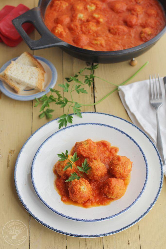 Albondigas de atun con tomate Receta www.cocinandoentreolivos.com (5)