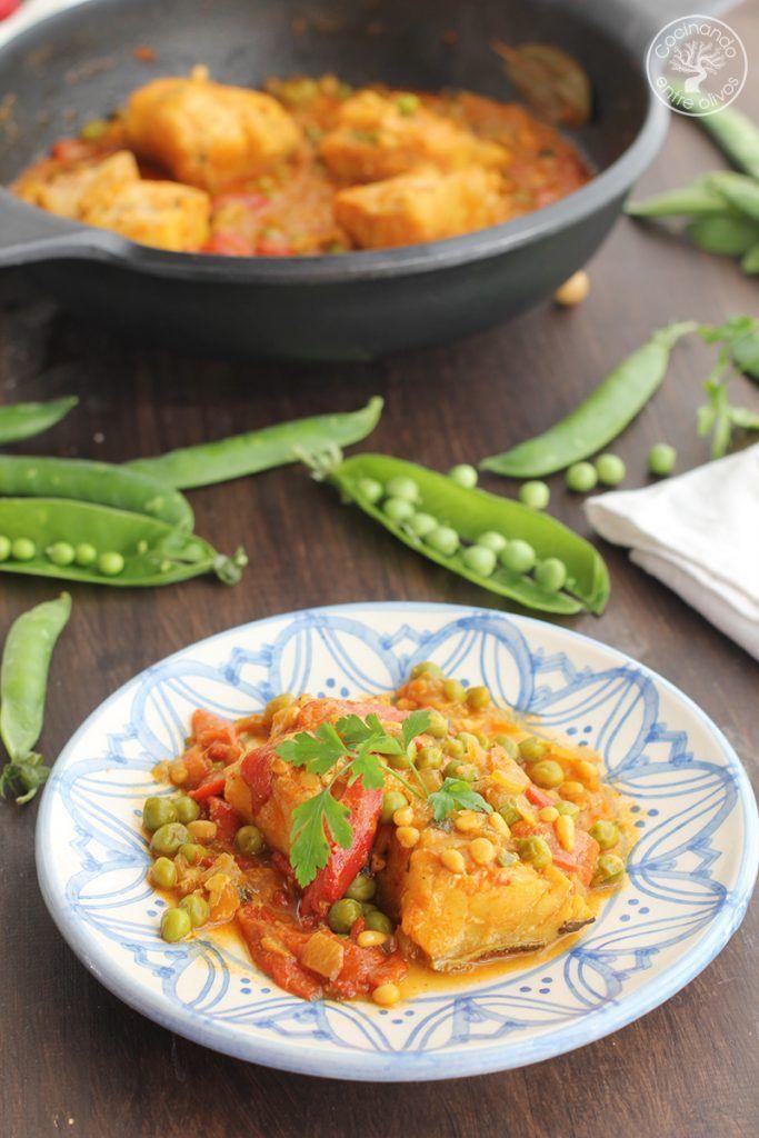 Bacalao a la baezana Receta www.cocinandoentreolivos.com (2)