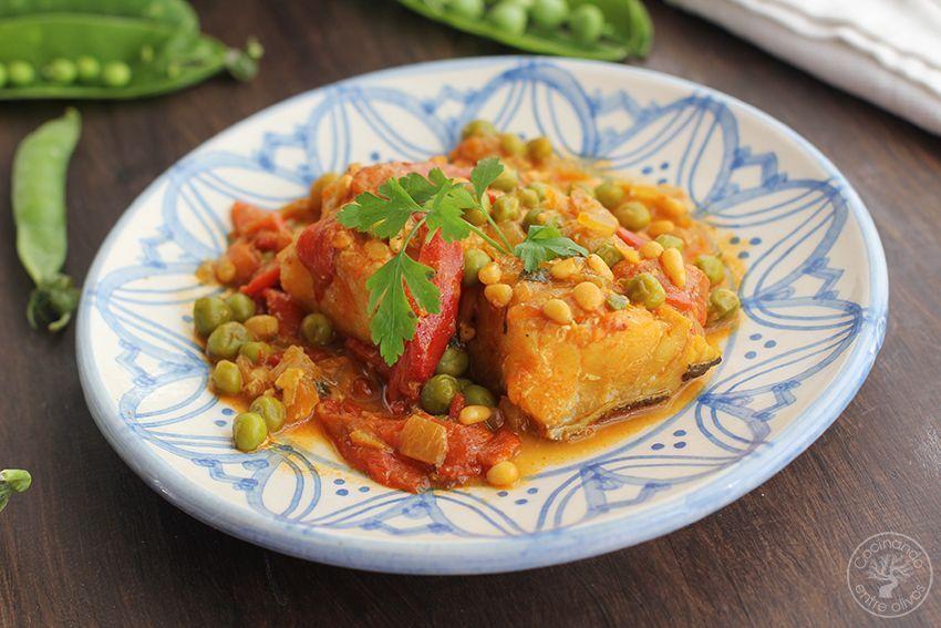 Bacalao a la baezana Receta www.cocinandoentreolivos.com (3)