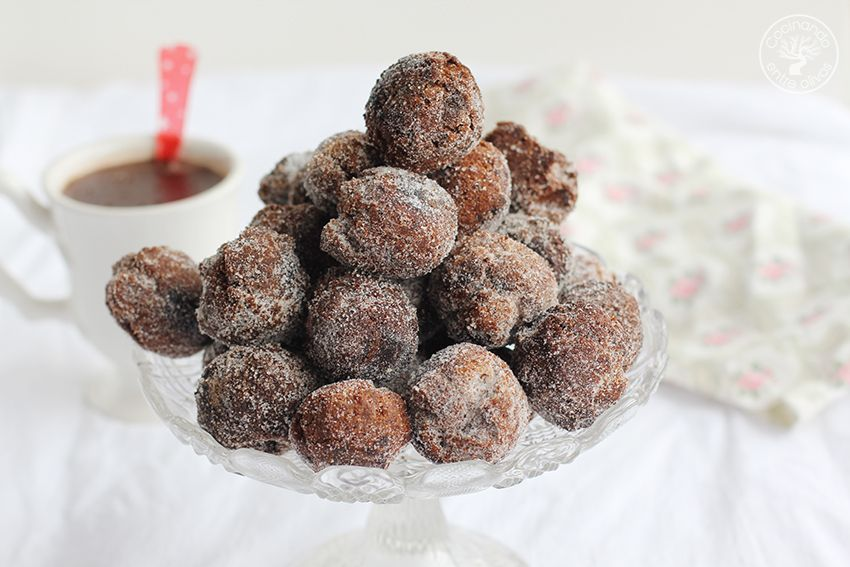 Castagnole de chocolate Dulce de Carnaval (1)