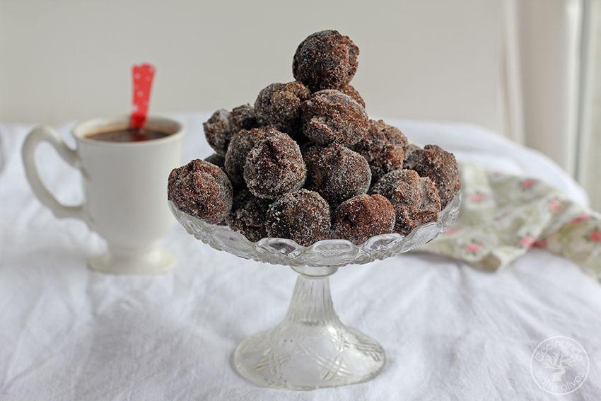 Castagnole de chocolate Dulce de Carnaval (2)