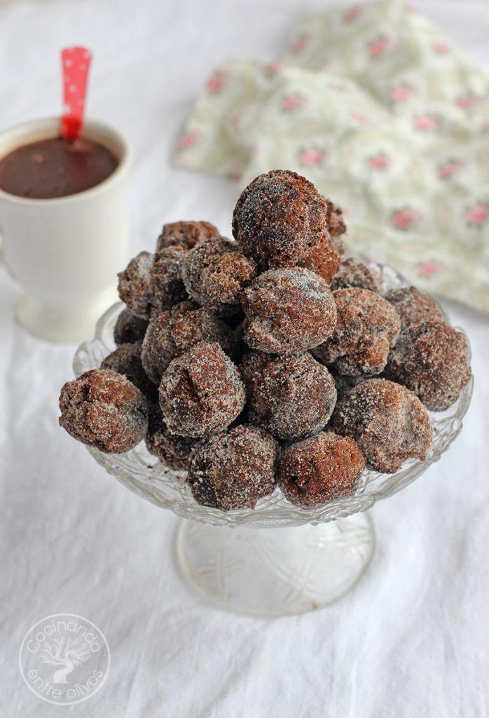 Castagnole de chocolate Dulce de Carnaval (4)