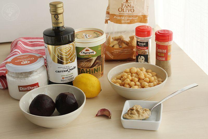 Hummus de remolacha y garbanzos Receta (18)