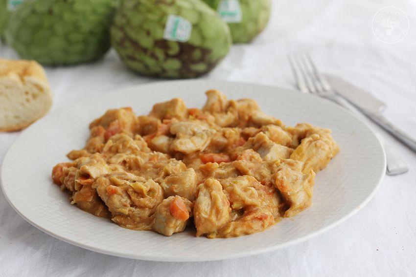 Pollo con chirimoya (11)
