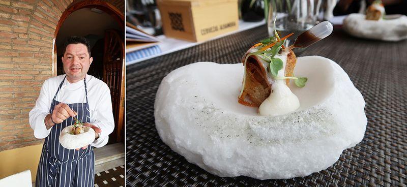 37. Granada de Tapas 2018. Restaurante Carmen de San Miguel