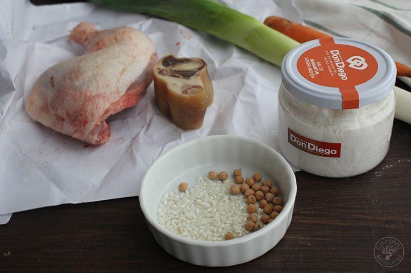 Caldo rápido de cocido para Sopa receta (1)