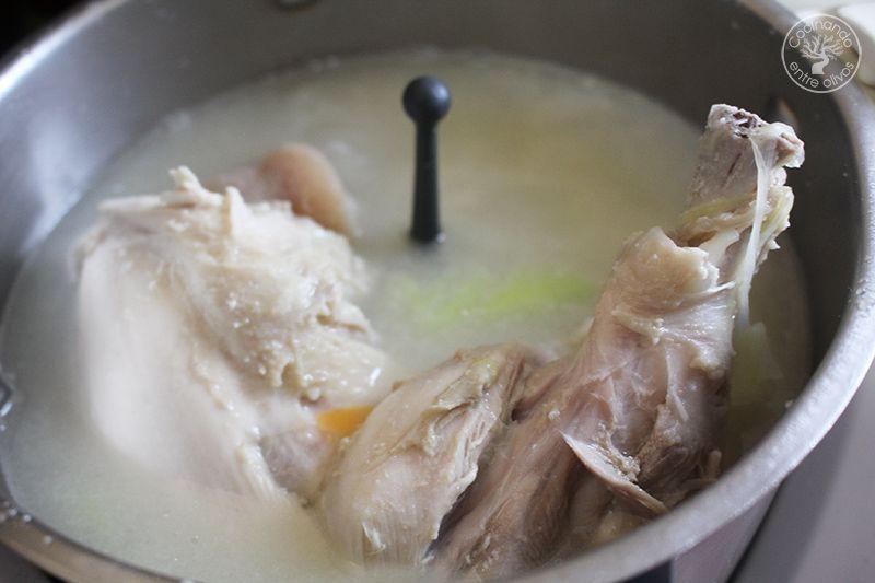 Caldo rápido de cocido para Sopa receta (11)