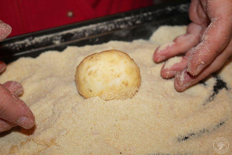 Champiñones rellenos de jamón york y queso receta www.cocinandoentreolivos.com (16)