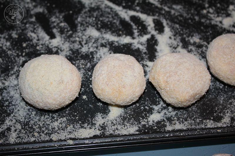 Champiñones rellenos de jamón york y queso receta www.cocinandoentreolivos.com (2)