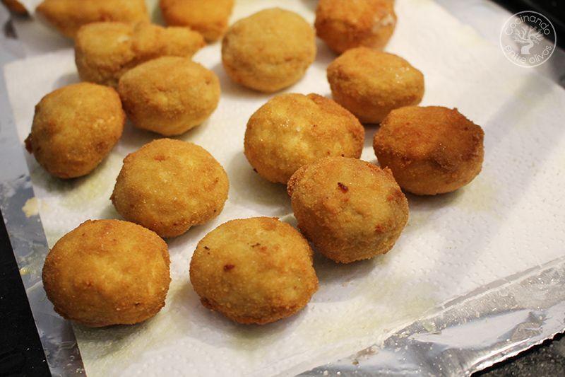 Champiñones rellenos de jamón york y queso receta www.cocinandoentreolivos.com (4)