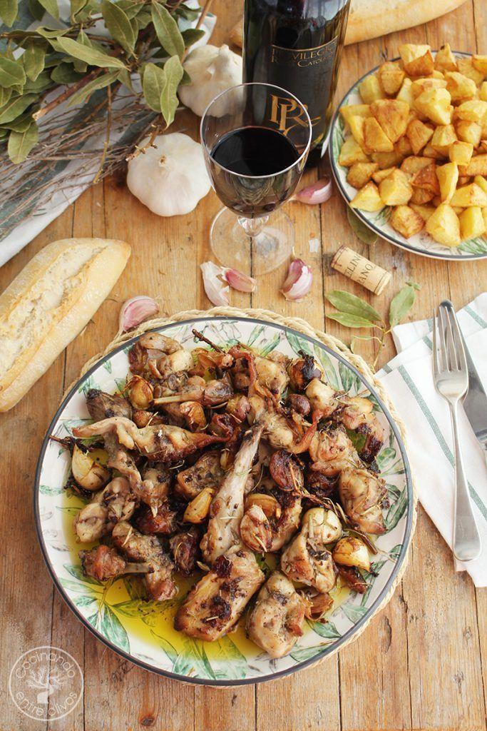 Conejo al ajillo receta www.cocinandoentreolivos.com (16)
