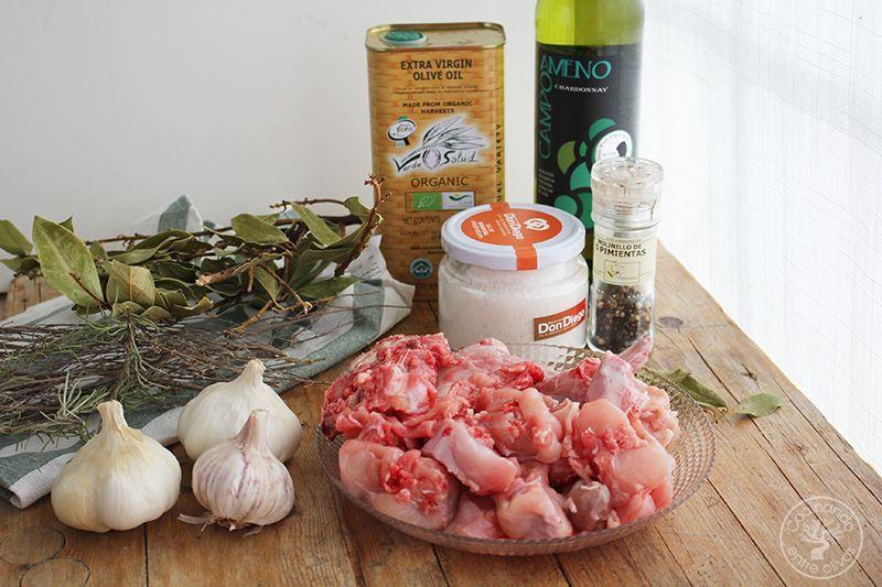 Conejo al ajillo receta www.cocinandoentreolivos.com (4)