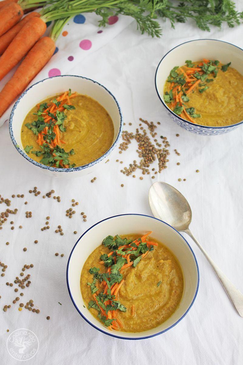 Crema de lentejas y zanahoria receta www.cocinandoentreolivos.com (19)