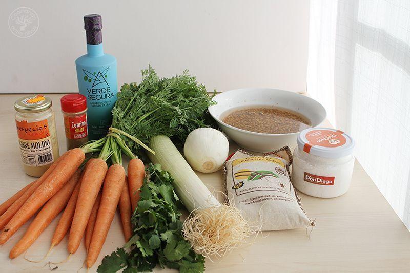 Crema de lentejas y zanahoria receta www.cocinandoentreolivos.com (2)