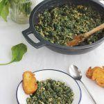 Espinacas esparragadas Jaén receta www.cocinandoentreolivos.com (1)
