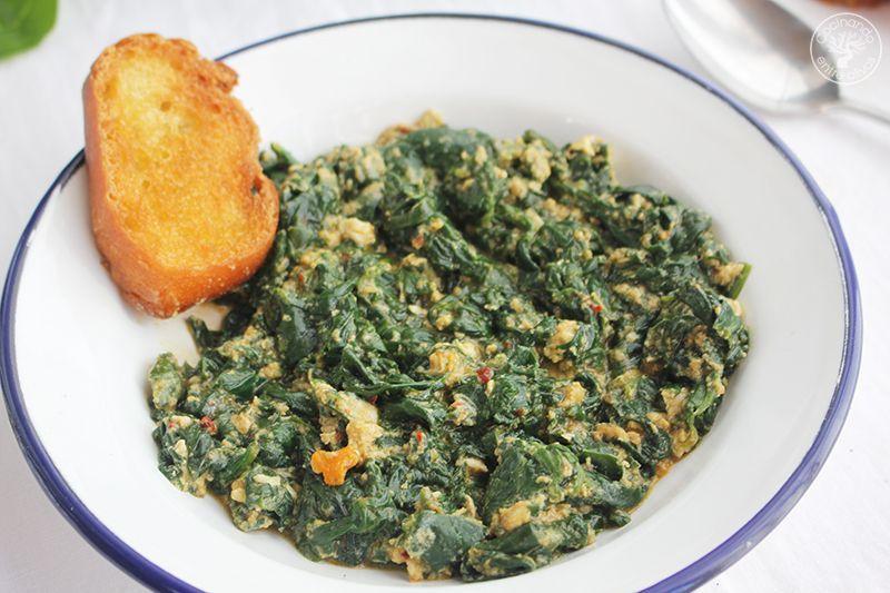 Espinacas esparragadas Jaén receta www.cocinandoentreolivos.com (13)