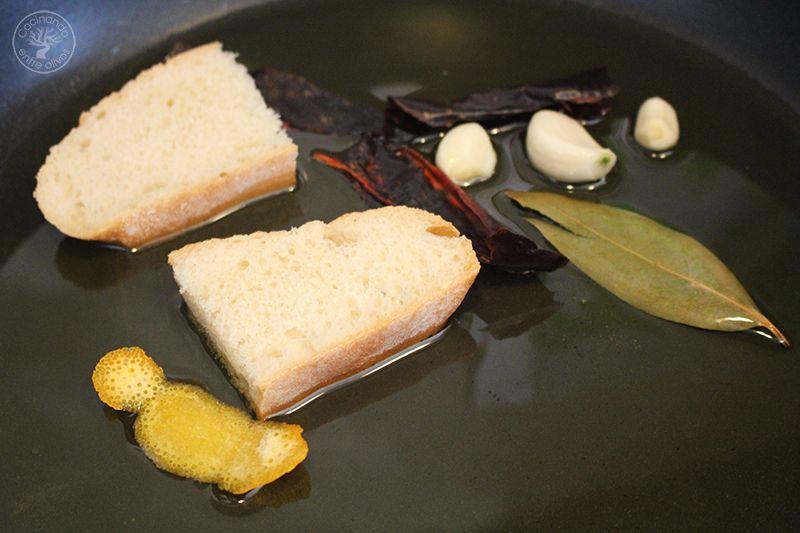 Espinacas esparragadas Jaén receta www.cocinandoentreolivos.com (5)