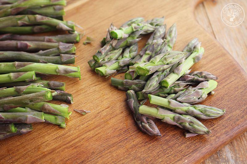 Pasta con esparragos verdes receta www.cocinandoentreolivos.com (10)