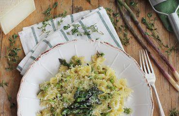 Pasta con esparragos verdes receta www.cocinandoentreolivos.com (3)