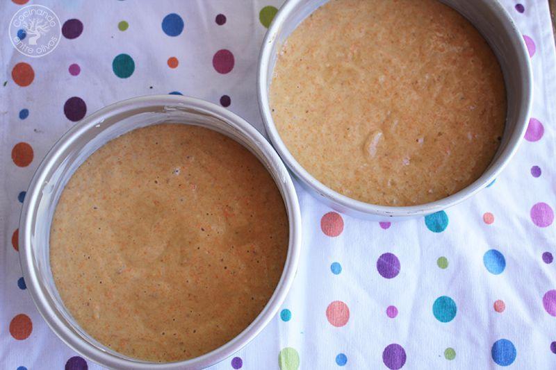 Tarta de zanahoria Carrot Cake Receta (29)