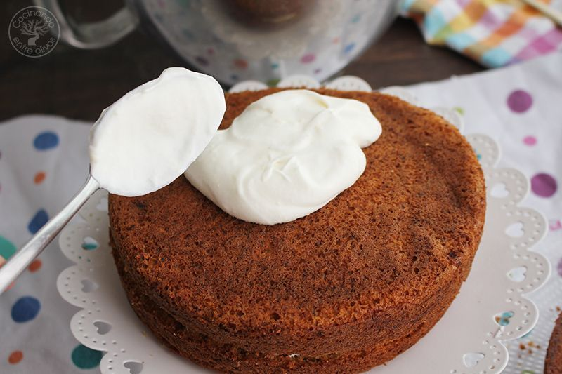 Tarta de zanahoria Carrot Cake Receta (6)