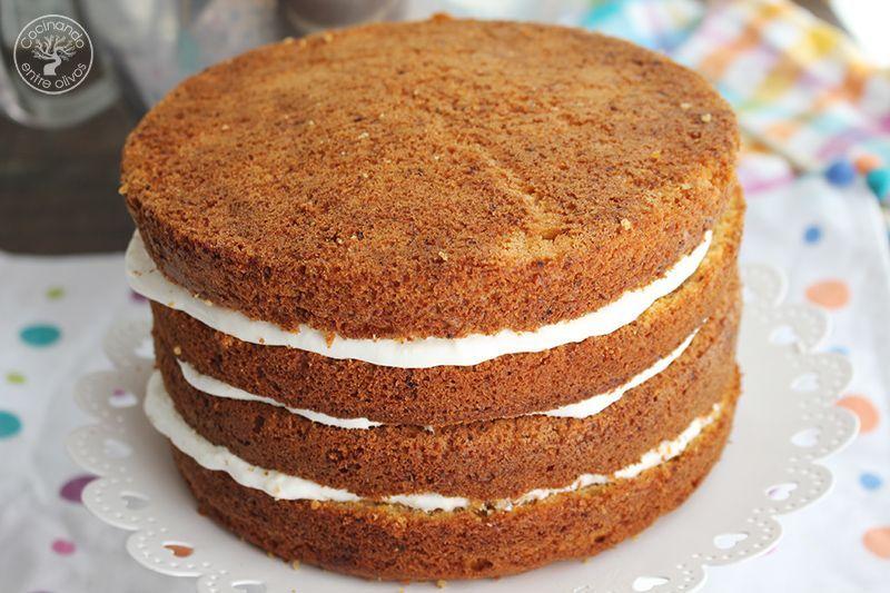 Tarta de zanahoria Carrot Cake Receta (9)