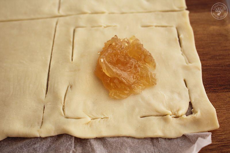 Dulces de hojaldre y cabello de angel receta (4)