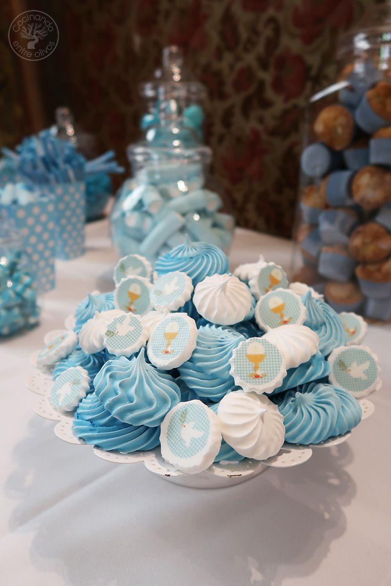 Merengues con papel decorativo Comunión www.cocinandoentreolivos.com (17)