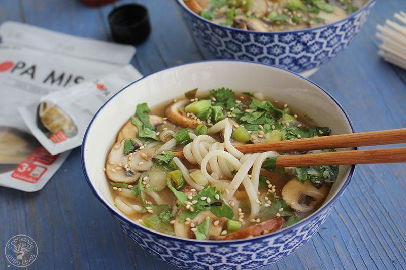 Sopa de miso con fideos udon receta www.cocinandoentreolivos.com (19)