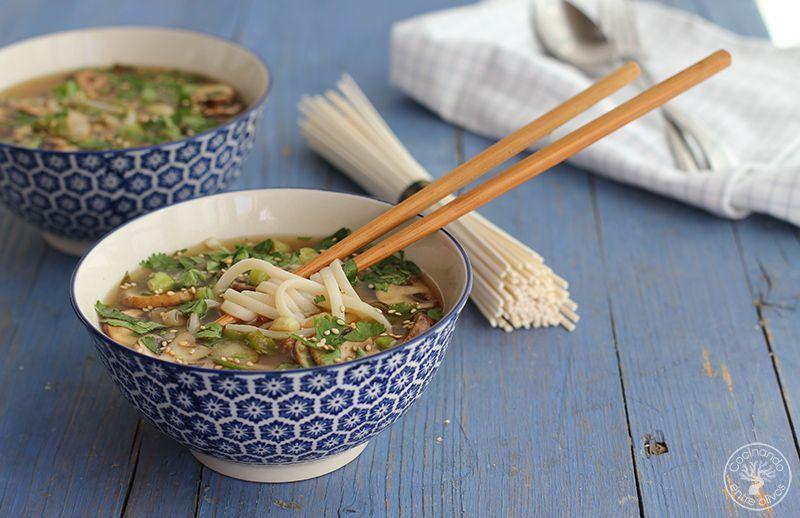 Sopa de miso con fideos udon receta www.cocinandoentreolivos.com (21)