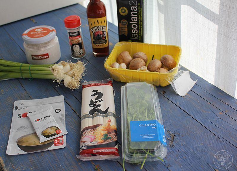 Sopa de miso con fideos udon receta www.cocinandoentreolivos.com (6)