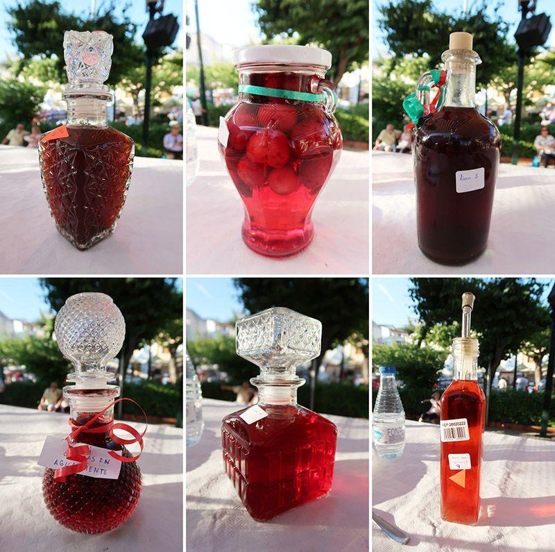 Concurso Cereza Castillera Bebidas
