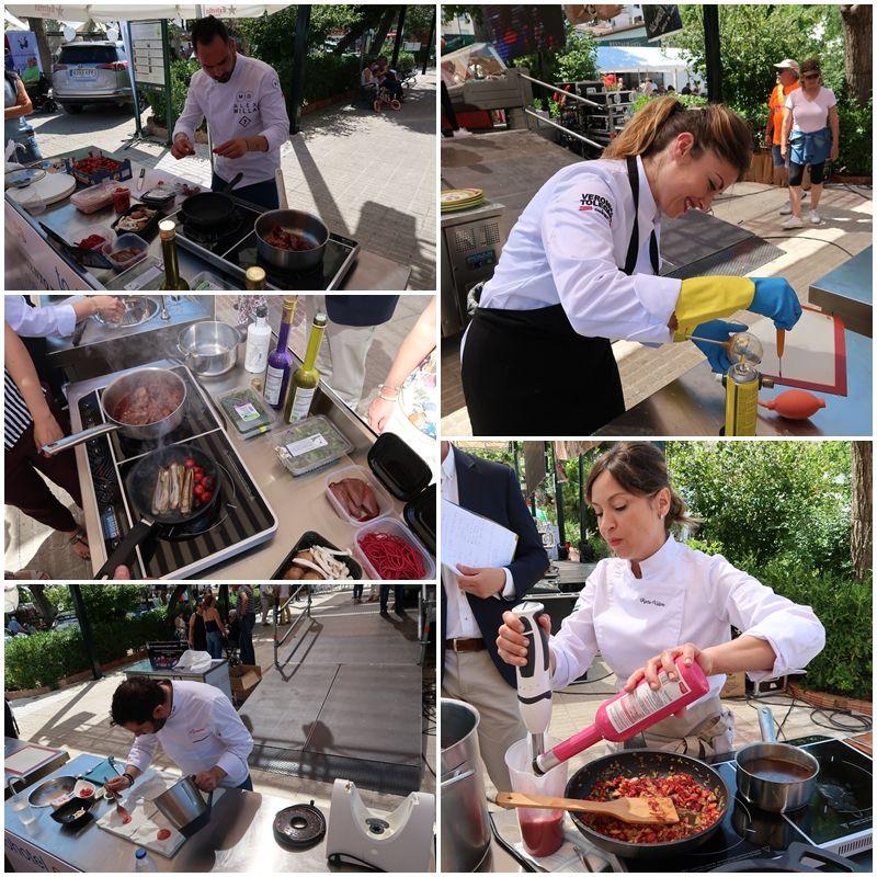 Concurso cereza cocina