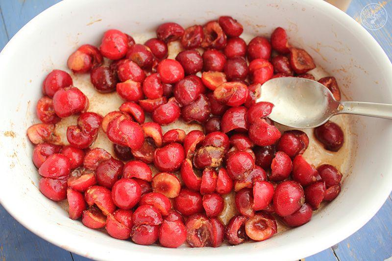 Crumble de cerezas www.cocinandoentreolivos.com (9)