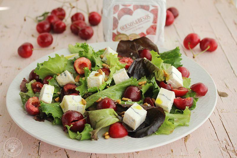 Ensalada de cerezas y queso www.cocinandoentreolivos.com (12)