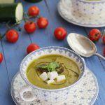 Gazpacho de calabacin con queso www.cocinandoentreolivos.com (3)