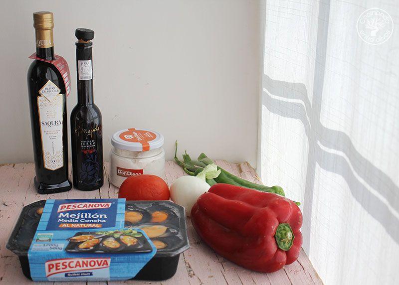 Mejillones a la vinagreta www.cocinandoentreolivos.com (1)