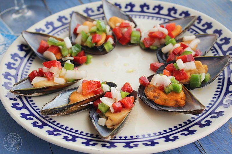 Mejillones a la vinagreta www.cocinandoentreolivos.com (11)