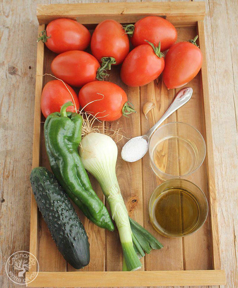 Gazpacho andaluz receta www.cocinandoentreolivos.com (2)