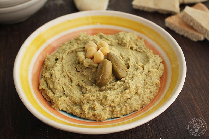 Hummus de Aceitunas verdes www.cocinandoentreolivos.com (10)