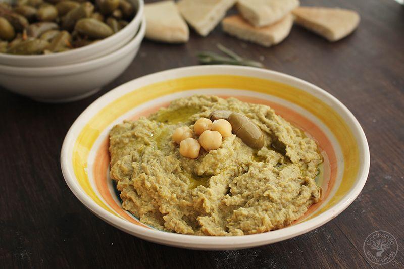 Hummus de Aceitunas verdes www.cocinandoentreolivos.com (13)
