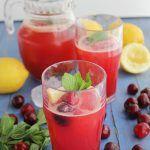 Limonada de cerezas www.cocinandoentreolivos.com (17)