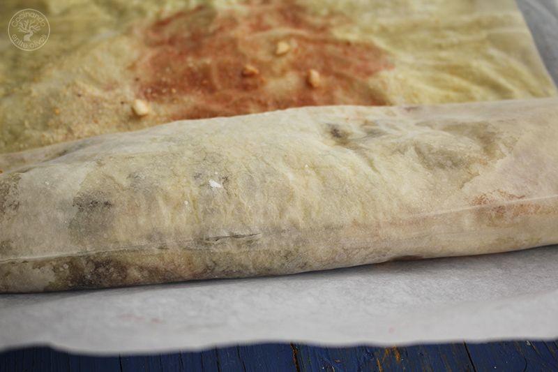 Strudel de cerezas y almendras www.cocinandoentreolivos.com (7)
