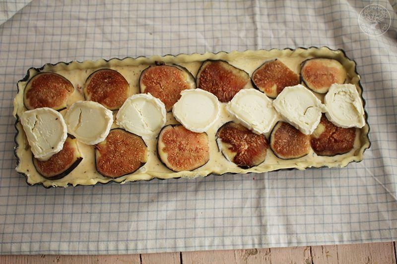 Tarta de hojaldre, brevas y queso de cabra (15)