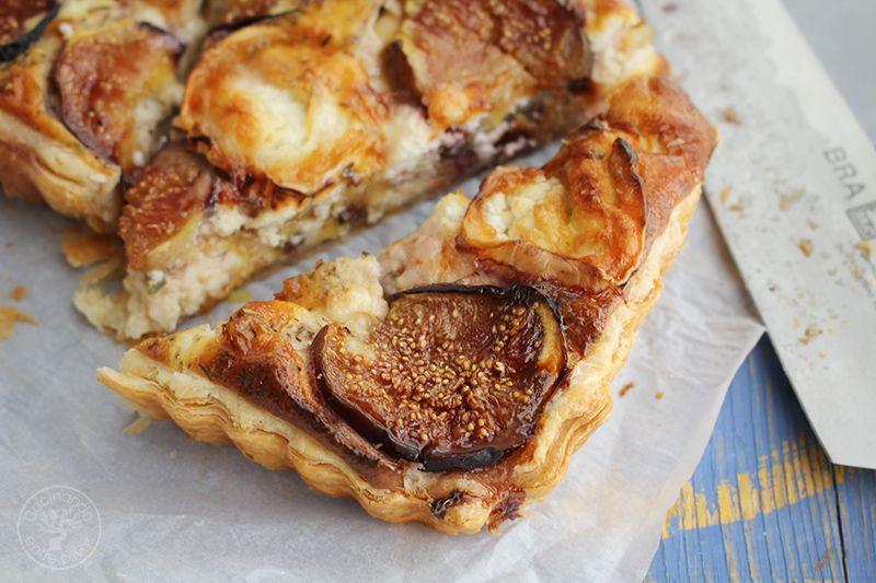 Tarta de hojaldre, brevas y queso de cabra (16)
