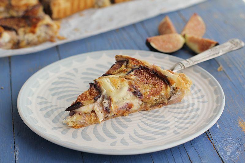 Tarta de hojaldre, brevas y queso de cabra (17)