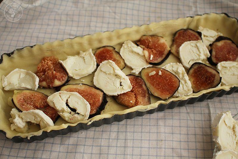 Tarta de hojaldre, brevas y queso de cabra (8)